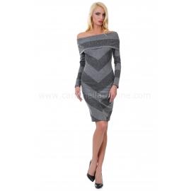 Dress Castella Gray