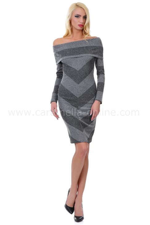 Dress Castella Gray 012110