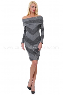 Dress Castella Gray