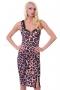 Рокля Pink Leopard 012086 5