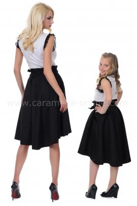 Skirt Black Romance