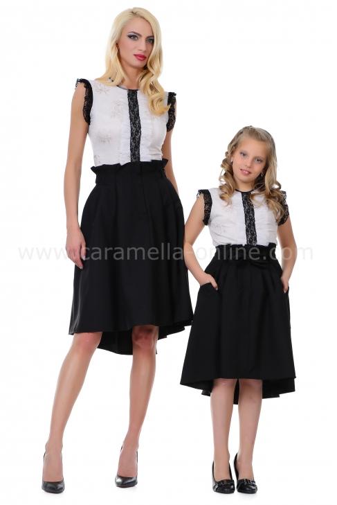 Skirt Black Romance 072008