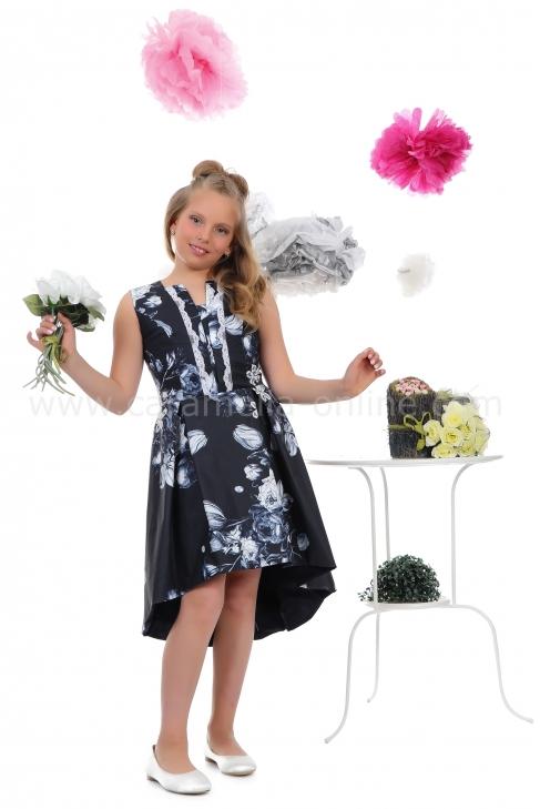 Dress Renata Blue 112002