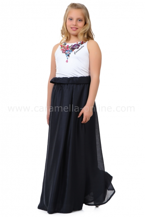Skirt Dark Blue 132002
