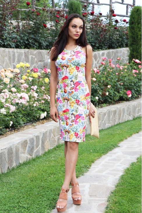 Dress Rose 012131
