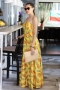 Dress Yellow Pineapple 012145 3