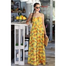 Dress Yellow Pineapple