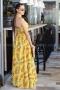 Dress Yellow Pineapple 012145 5