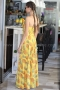 Dress Yellow Pineapple 012145 6