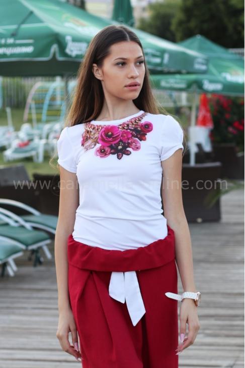 Blouse Rose Garden 022091