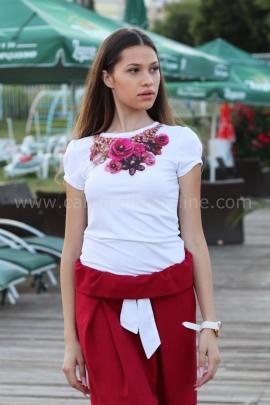 Blouse Rose Garden