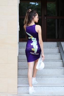 Dress Bunny Moschino