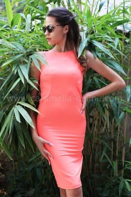 Dress Oringe Neon