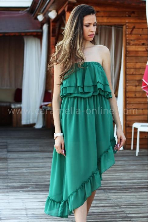 Dress Green Suzi 012153