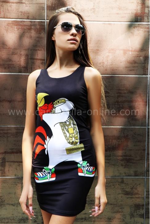 Dress Moschino Print 012159