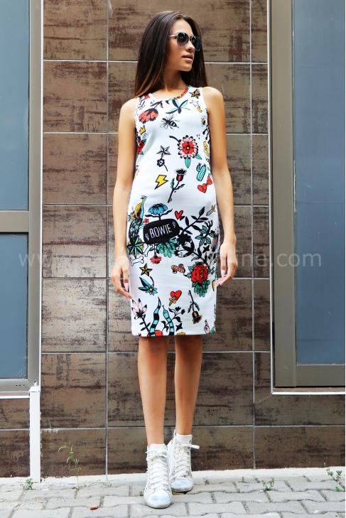 Dress Plein Print 012160