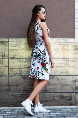 Dress Plein Print