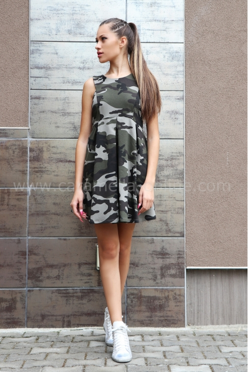 Dress Casual Military 012162
