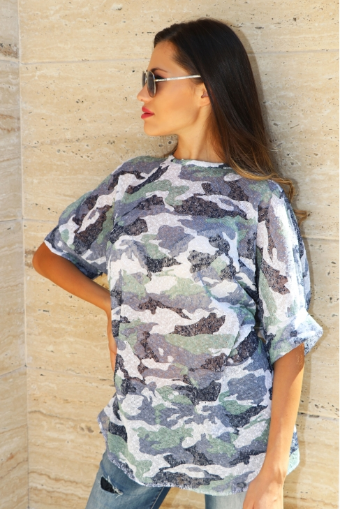 Туника Camouflage Lila 022110