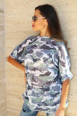 Туника Camouflage Lila