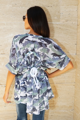 Tunic Camouflage Lila