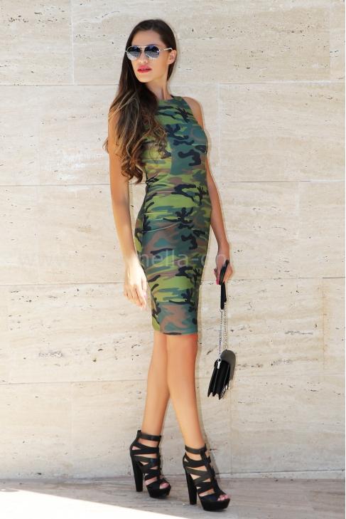 Dress Nana Camouflage 012164