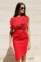 Dress Red Rose 012166 1