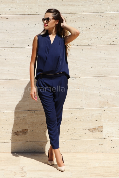 Jumpsuit Blue Velvet 042008