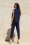 Jumpsuit Blue Velvet 042008 6