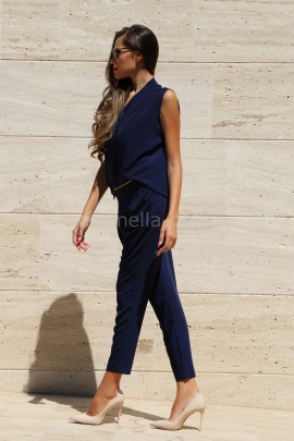 Jumpsuit Blue Velevet