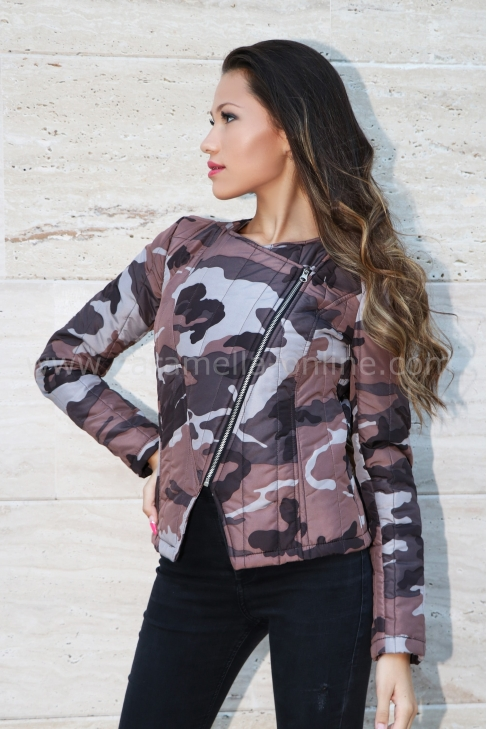 Jacket Brown Camouflage 062022
