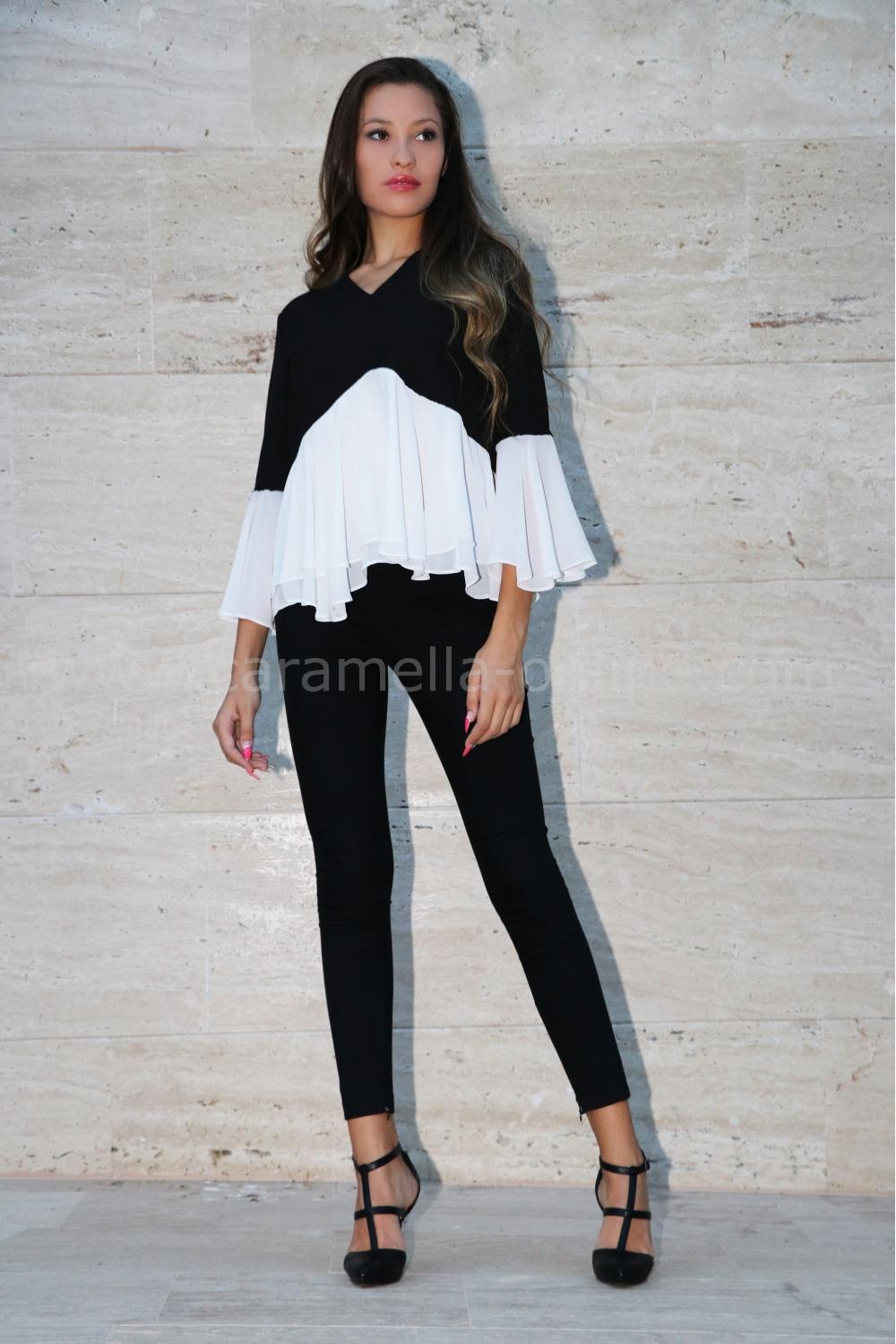 53fc08c15f2 Блуза Stephania 022109 на топ цена — Caramella Fashion