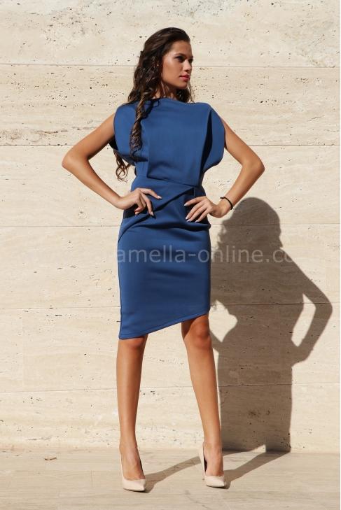 Dress Blue City 012174