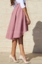Skirt Pink Luxury Cashmere 032047 4