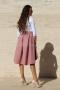 Skirt Pink Luxury Cashmere 032047 2