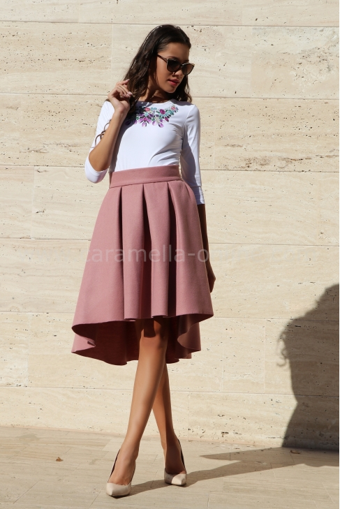 Skirt Pink Luxury Cashmere 032023
