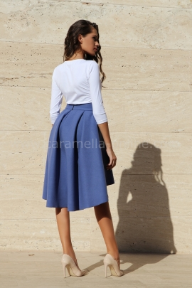 Skirt Purple Luxury Cashmere