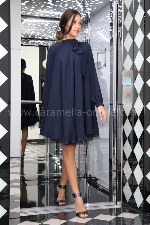 Dress Blue Lorene 012177