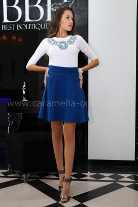Blouse Blue Diamond