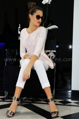 Blouse Pink Cashmere