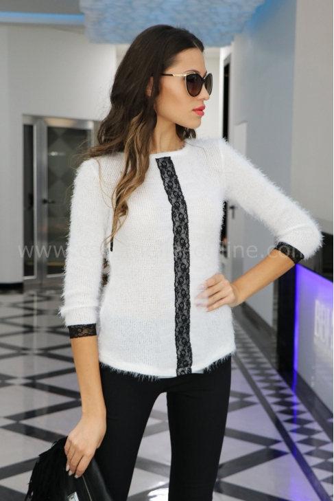 Blouse Cashmere White 022120
