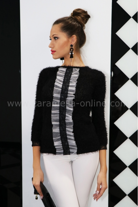 Blouse Cashmere Black 022116