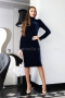 Dress Blue Balmain 012185 4