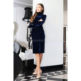 Dress Blue Balmain