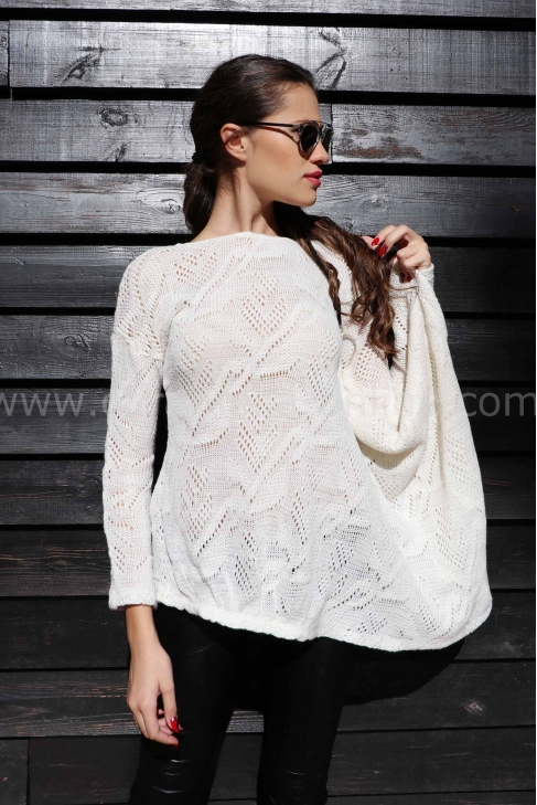 Blouse Whte Love 022127