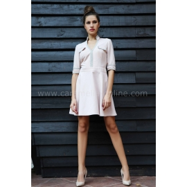 Dress Cream Silver