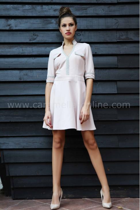 Dress Cream Silver 012197