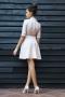 Dress Cream Silver 012197 2
