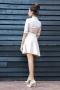 Dress Cream Silver 012197 4