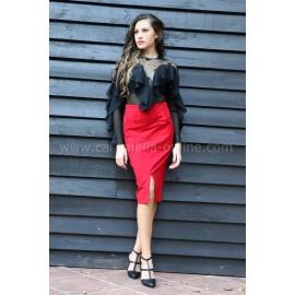 Skirt Red Bless